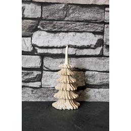 Baum geschnitzt, 10 cm