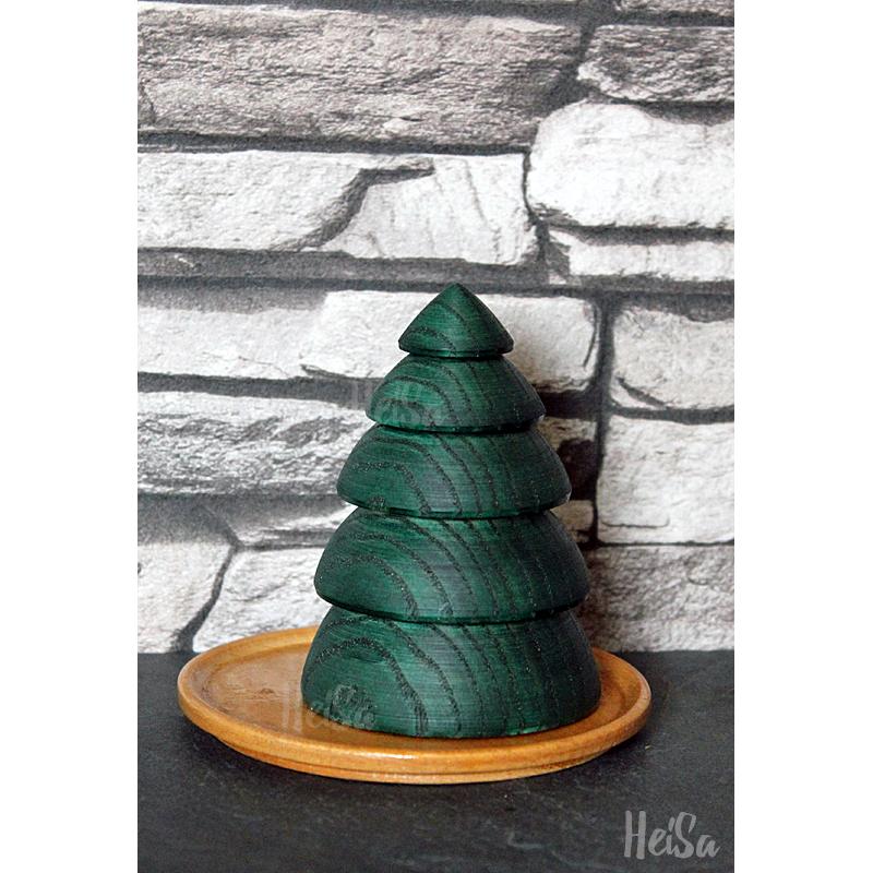 Baum gedrechselt, 8 cm