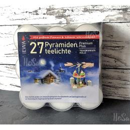 Teelichter, 27 Stück