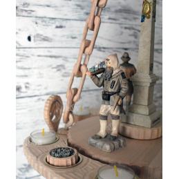 Bergmännischer Drehleuchter Detail 3